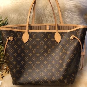 1d618bbf90e Louis Vuitton Bags - Neverfull Tote LV